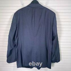 Hugo Boss Huge6/Genius5 Slim Fit 2pc. Wool Suit Stretch Super 120's Mens 46R/W38