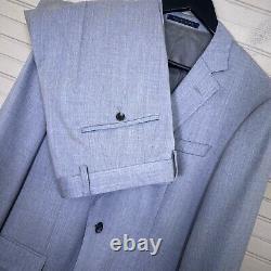 Hugo Boss Huge6/Genius5 Slim Fit Stretch Super 120's 2pc. Suit Men's 38R/35W