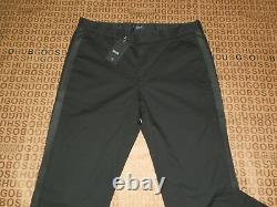 Hugo Boss Mens Black Mercedes Amg F1 Stretch Slim Fit Suit Pants Trousers £179