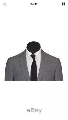 Hugo Boss Mid-Grey Slim Fit Suit 38R 32W (RRP £800)ULTRA RARE