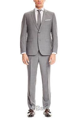 Hugo Boss Slim Fit Men's Suit 100% Wool 2 Piece C Jays/C Shaft Grey 50321304 033