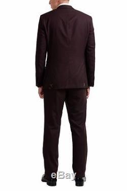 Hugo Boss T-Harvers2/Glover1 Men's Silk Wool Two Button Suit US 38R IT 48