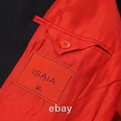 Isaia Slim-Fit'Gregorio' Black Wool Tuxedo with Peak Lapels 38R (Eu 48)