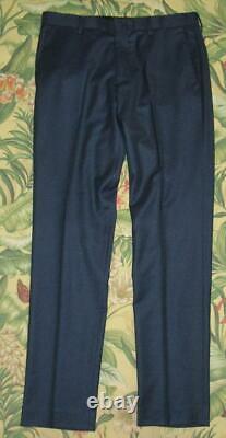 J CREW Ludlow Slim Fit Suit Vitale Barberis Canonino Jacket 38 Short Pants 32 32