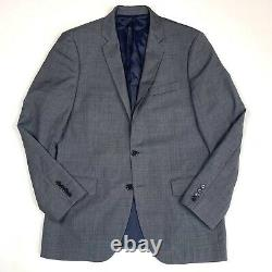 J. Crew Factory Thompson Slim Fit Wool Suit 40 R Blazer 33 x 32 Pants Gray G1730