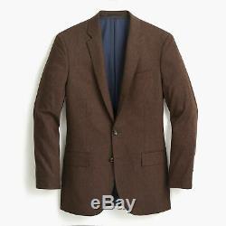 J. Crew Ludlow Slim-Fit Suit Jacket in Italian Stretch Wool Flannel 36S $425