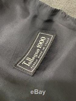 J Crew Ludlow Slim Fit Wool Gray Suit 40 R Flat Fronted