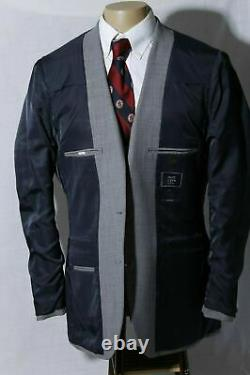 J. Crew Thompson Men's Gray Slim Fit Side Vent Suit Size 42L W36