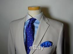 JIL SANDER MAINLINE''Tailor Made' Slim Fit Ivory Suit 38, 40, 44 RRP £1,150