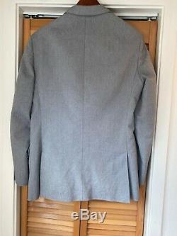 Jcrew Ludlow Suit 40R Cotton Slim Fitting