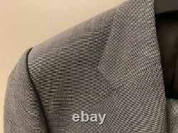 Kingsman Harry Slim-fit Checked Wool Suit Sz 38 / Brand New