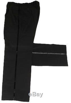Luxury Mens Kenzo Italian Tuxedo Dinner Slim Fit Traditional Suit 40r W34 X L33