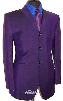 Luxury Men's Ozwald Boateng Bespoke Couture Slim Fit Suit 42r W36 L32