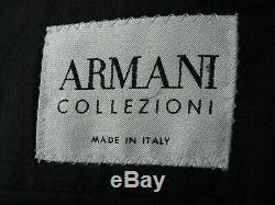 Luxury Mens Armani Bespoke Custom -made Navy Stripey Slim Fit Suit 38r W32 X L33