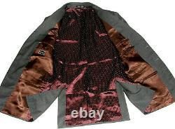 Luxury Mens Paul Smith London Slim Fit Charcoal Pinstripe Suit 40r W34 X L32