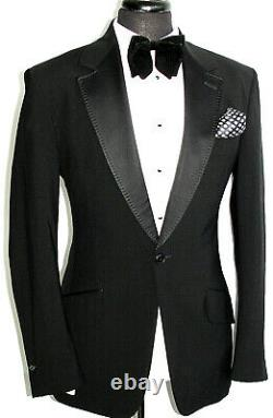 Luxury Mens Vivienne Westwood London Tuxedo Dinner Slim Fit Suit 40r W34 X L32