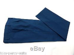 Men's Blue Alexandre Of England Slim Fit Suit 38S W32 L29 SS6368