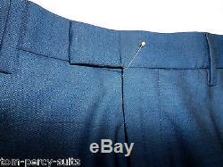 Men's Blue Ben Sherman Kings Slim Fit Suit 38XL W32 L33 SS6660