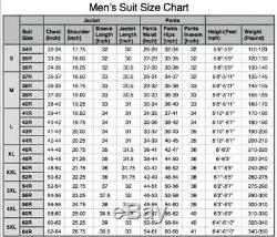 Men's Brown Check Tweed Jacket or Waistcoat or Pants or 3 Piece Suit Slim Fit