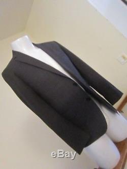 Men's Hugo Boss Red Label Slim Fit 2 Piece Gray Suit Size 36 S