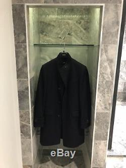Men's Hugo Boss navy suit overcoat, Chest size 38R, Slim fit, Never worn