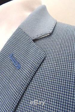 Men's Light Blue Summer Cruise Wedding Slim Fit Suit 38R W32 L31.5 EZ408