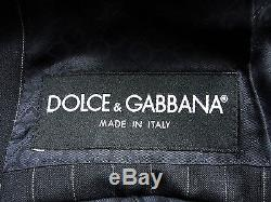 Mens D&g/ Dolce & Gabbana Italian Chalkstripes Slim Fit Suit 44r W36 X L34