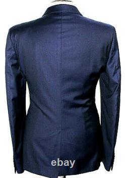 Mens Gucci Tom Ford Italian Mordern Tailored Navy Slim Fit Suit 42r W36 X L32