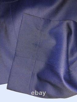 Mens Hugo Boss Huge6/Genius5 Trim Fit Wool Blue Suit 42R X W36 MSRP $895