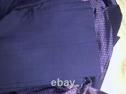 Mens Ted Baker Jay Trim Fit 3 Pieces Suit 40R X W33R MSRP $895