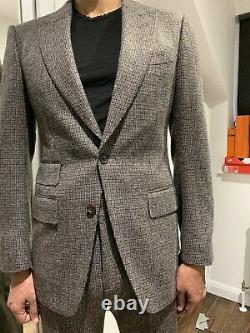 Mens Tom Ford Wool Cashmere Slim Fit Suit UK36