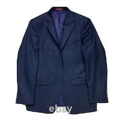 Mint! 38 S Saks 5th Ave X Ermengildo Zegna Royal Navy Blue Slim Fit Suit RZ