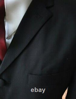 Mod Suit Black POW Check Suit 3 Button Slim Fitting Suit 1960's