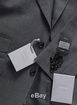 NEW 2018 TOM FORD Suit Slim-Fit Wool Lightweight 2 Btn US 40 R/50 $4870