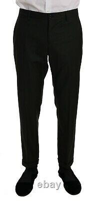 NEW $2700 DOLCE & GABBANA Suit Green Wool Two Button Slim Fit Blazer IT48 / US38