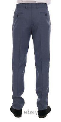 NEW $700 DANIELE ALESSANDRINI Suit Blue Two Button Slim Fit Men IT52 / US42 / XL