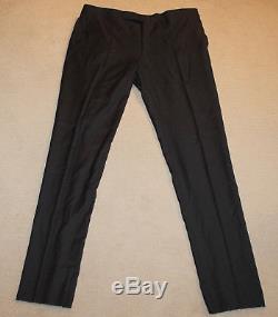 NEW Polo Ralph Lauren Custom Fit Modern Slim Fit Dark Gray Suit 46L
