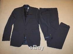 NEW Polo Ralph Lauren Custom Slim Fit Modern Blue Gray Wool Suit 42R