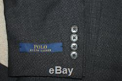 NEW Polo Ralph Lauren Custom Slim Fit Modern Gray Wool Suit 38R