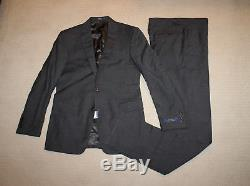 NEW Polo Ralph Lauren Made in Italy Modern Slim Fit Gray Suit 42R