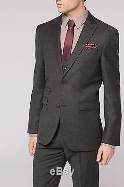 NEXT SIGNATURE TEXTURED SUIT Slim Fit (Jacket 40 S Trousers 34 R)