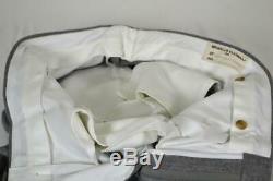 NWOT $5800 BRUNELLO CUCINELLI Flat Front Grey Tuxedo SUIT 38 R Slim Fit 40 R