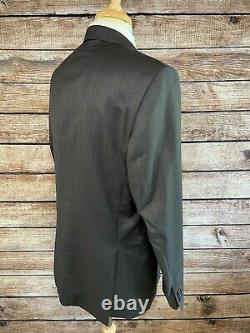 NWOT Ermenegildo Zegna for Saks Slim Fit Wool Suit 44 R (38 Pants) Gray