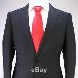 NWT $1,999 Armani Collezioni Suit Size 38 Slim Fit Black