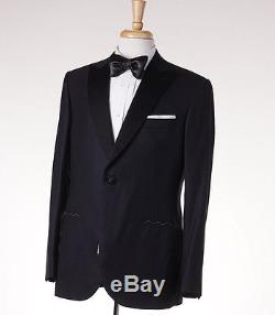 NWT $11,730 BRIONI'Waldorf' Super 160s Jacquard Wool Tuxedo Slim-Fit 42 R Suit