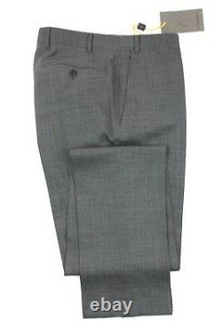 NWT $2195 CANALI 1934 Wool Suit 40 R (50 EU) Grey Travel Peak Lapel Slim Fit