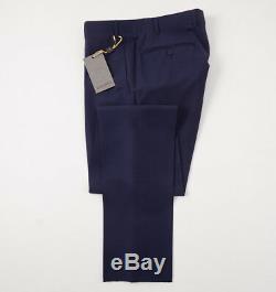 NWT $2895 CANALI 1934 Slim-Fit Blue Wool-Silk Three Piece Tuxedo 36 R Suit