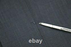 NWT $2995 CANALI 1934 Exclusive Woven Blue Stripe Super 150's Suit Slim Fit 40 R