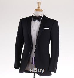 NWT $2995 RALPH LAUREN PURPLE LABEL Black Wool Tuxedo Slim-Fit 36 R Suit