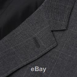 NWT $2995 RALPH LAUREN PURPLE LABEL Slim-Fit'Nigel' Gray Check Wool Suit 40 R